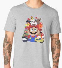 Captured Comrades - Super Mario Odyssey  Men's Premium T-Shirt