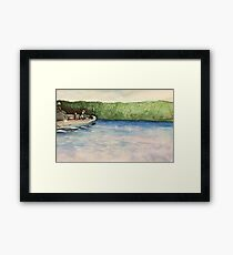 river ride with you Framed Print