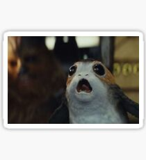 Porg starters the last jedi Sticker