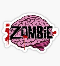 iZombie Brains Sticker