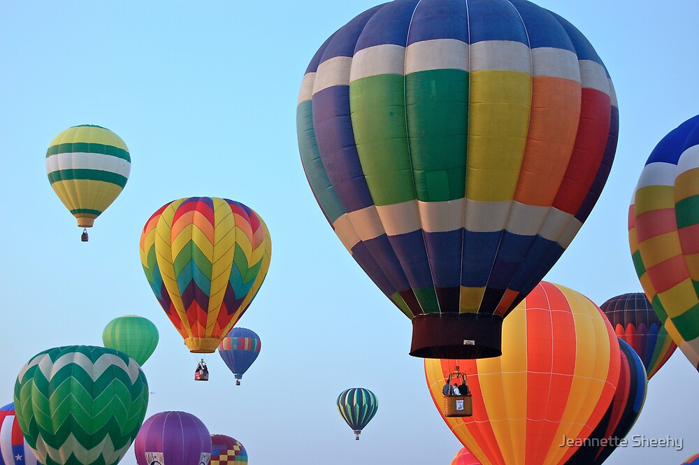 Up, Up and Away by Jeannette Sheehy