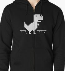 da2fcfe7efab69 Pixel Dinosaur Sweatshirts   Hoodies