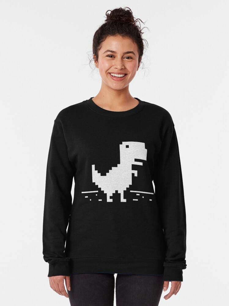 Alternate view of Chrome t-rex Pullover Sweatshirt