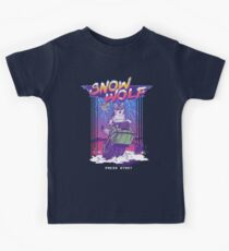 Snow Wolf Kids Clothes