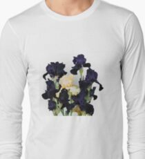 Bouquet of irises full of dark color T-Shirt