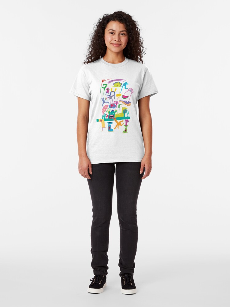 Alternate view of Classic Doodles Classic T-Shirt