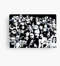 movie mash up Canvas Print