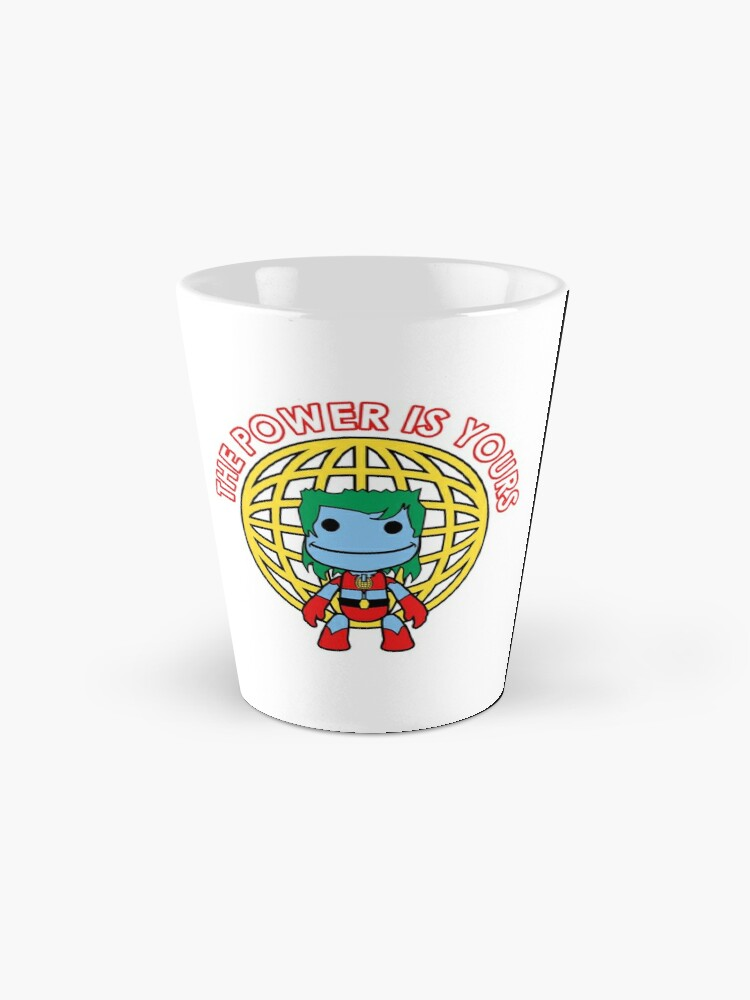 Alternate view of Captain Little Big Planet - Multiple Colors - Red Text Mug
