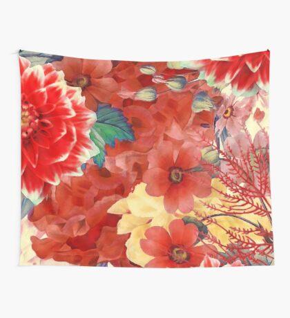 flowers 29 #flora #flowers #pattern Wall Tapestry