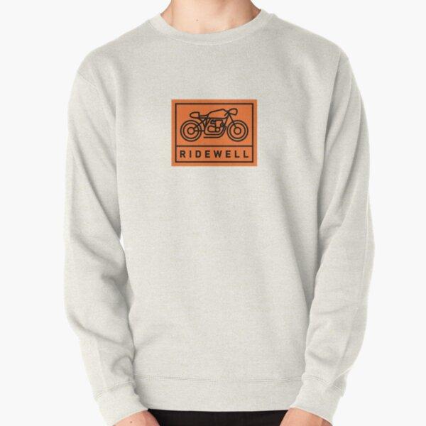 RIDEWELL Logo - Black on Orange Pullover Sweatshirt