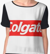 colgate supreme sticker Chiffon Top