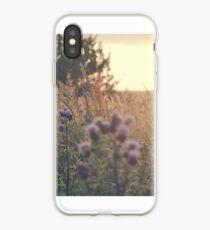 Sunset field iPhone Case