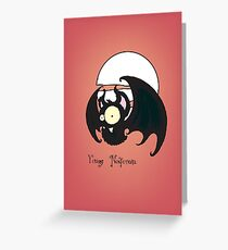 Young Nosferatu Greeting Card