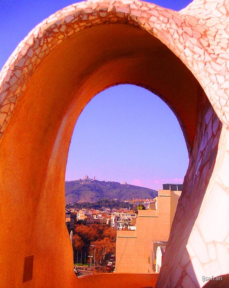 Roof of La Padrera by Gaudi by ljsafran