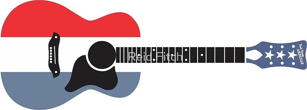 Harmony Buck Owens American Guitar By Reid Fitch Redbubble