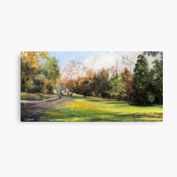 The Village Green Canvas Print