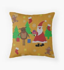 Ugly Christmas Sweater Floor Pillow