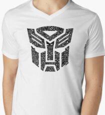 Transformers Autobots Men's V-Neck T-Shirt