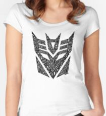 Transformers Decepticons Women's Fitted Scoop T-Shirt