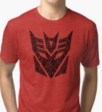 Transformers Decepticons Tri-blend T-Shirt