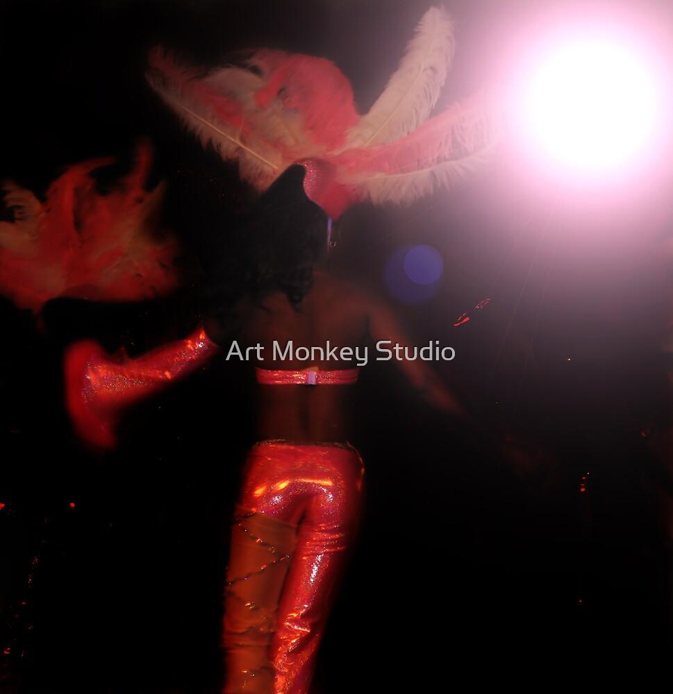 Burlesque Dancer 33 by Dan Perez