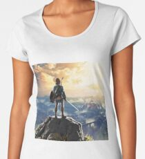 Camiseta premium para mujer The legend of Zelda