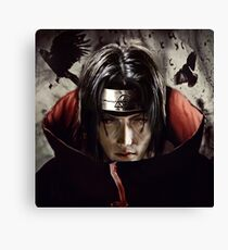 Crow ninja Canvas Print