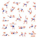 Foxy Yoga  by beadylou