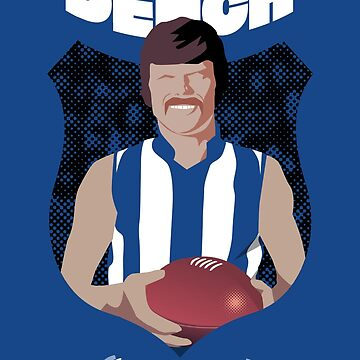 David Dench - North Melbourne (for blue shirts only) by 4boat