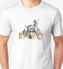 Playing Australian Cattle Dog Comic - Funny - Gift - Play Unisex T-Shirt