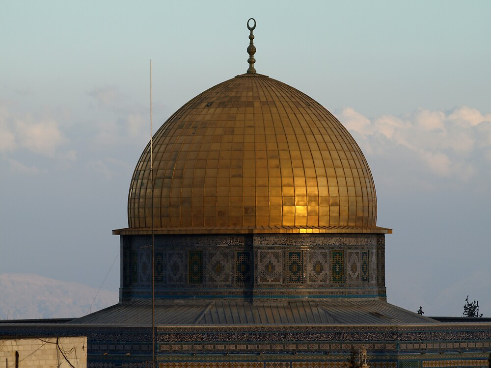 The dome of the Rock by MichaelBr