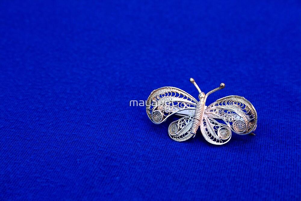 Filigree Butterfly by mayapet