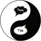Think - Talk as Yin - Yang by IntrovertInside