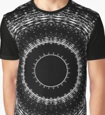 Elliptical Dark Design Graphic T-Shirt