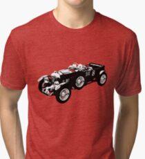 Bentley 4.5 litre classic race car Tri-blend T-Shirt