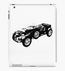 Bentley 4.5 litre classic race car iPad Case/Skin