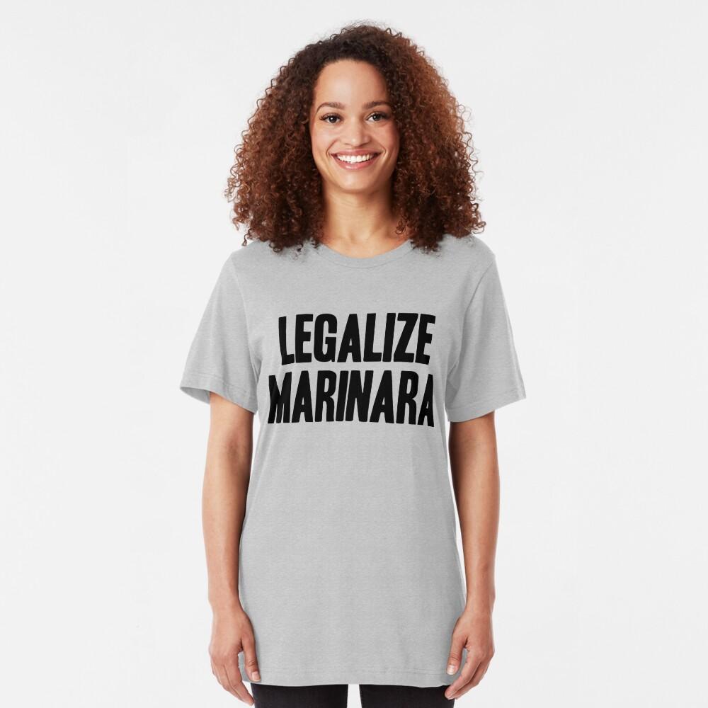 Legalize Marinara Slim Fit T-Shirt