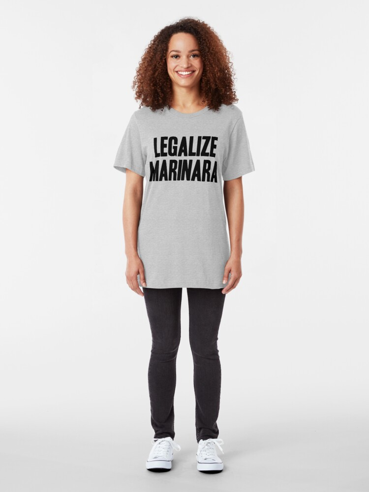Alternate view of Legalize Marinara Slim Fit T-Shirt