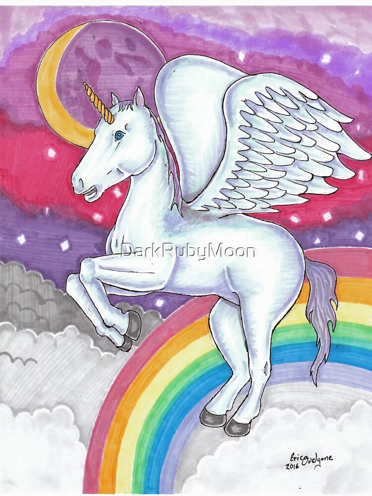 Unicorn by DarkRubyMoon