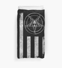 Baphomet Nation Duvet Cover