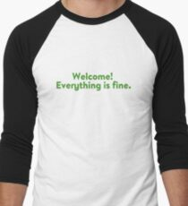 Everything is fine Men's Baseball ¾ T-Shirt