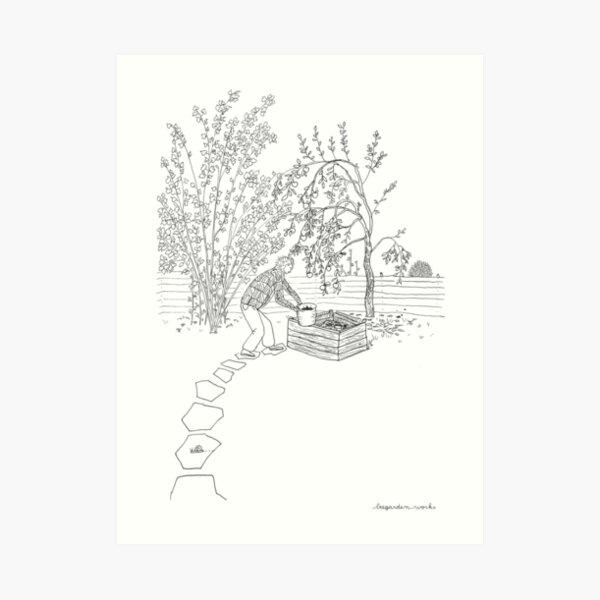beegarden.works 001 Art Print