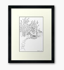 beegarden.works 001 Framed Print