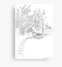 beegarden.works 001 Metal Print