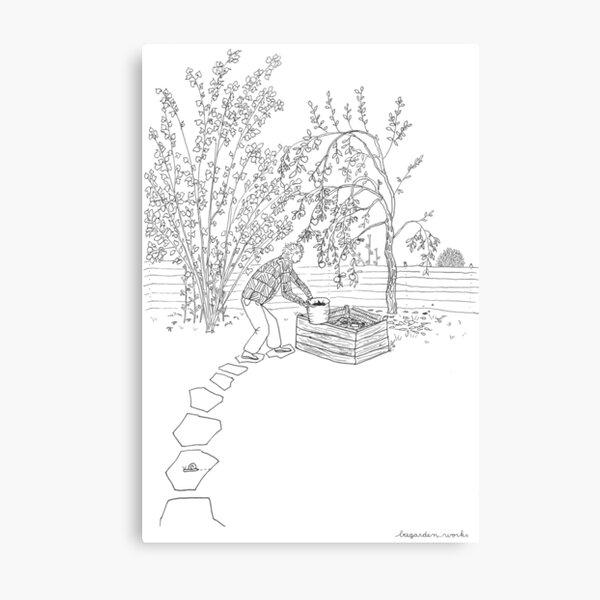 beegarden.works 001 Metal Print