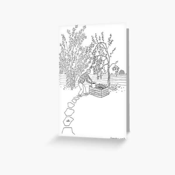 beegarden.works 001 Greeting Card