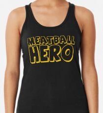 Meatball Hero Racerback Tank Top
