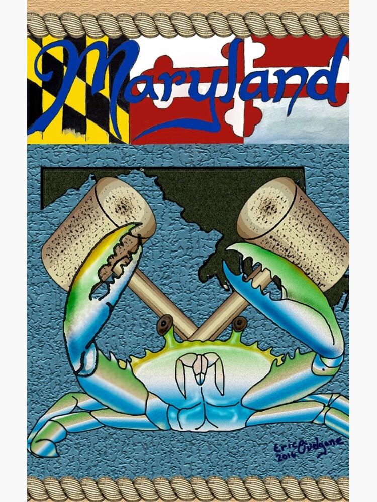 Maryland crab by DarkRubyMoon
