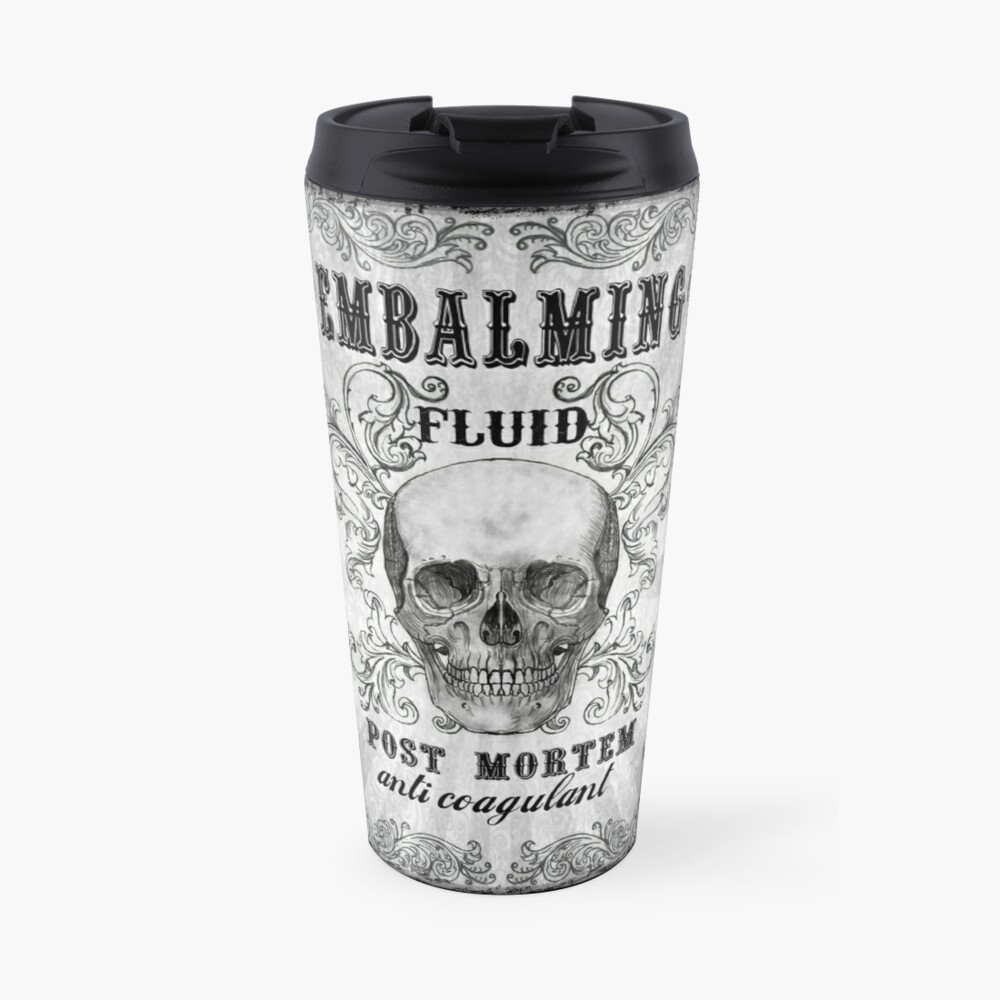 Embalming fluid Travel Mug
