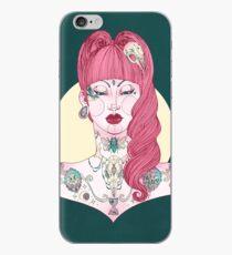 Betty Tattoo Girl iPhone Case